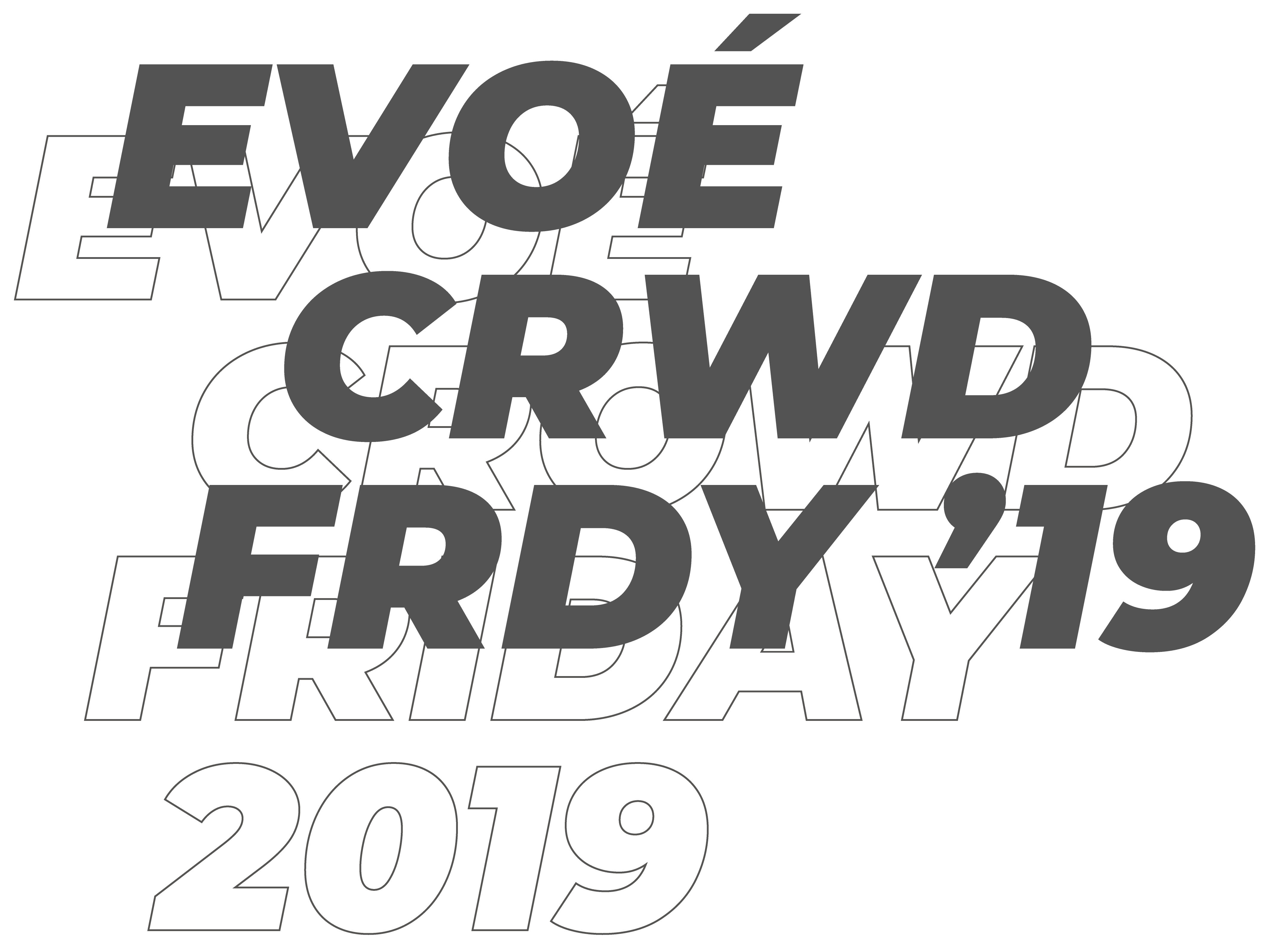 Crowd Friday 2019